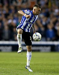 Jack Hunt of Sheffield Wednesday controls the ball - Mandatory by-line: Robbie Stephenson/JMP - 13/05/2016 - FOOTBALL - Hillsborough - Sheffield, England - Sheffield Wednesday v Brighton and Hove Albion - Sky Bet Championship Play-off Semi Final first leg