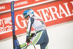 Meta Hrovat (SLO) reacts during 2nd Run of Ladies' Giant Slalom at 57th Golden Fox event at Audi FIS Ski World Cup 2020/21, on January 17, 2021 in Podkoren, Kranjska Gora, Slovenia. Photo by Vid Ponikvar / Sportida