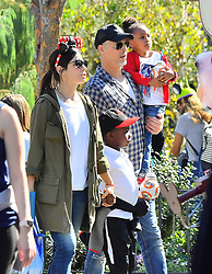 EXCLUSIVE: *NO WEB UNTIL 10AM PST 20TH FEB* Sandra Bullock and her boyfriend Bryan Randall are joined by Jason Bateman and his family while spending the day at Disneyland. Sandra and her boyfriend along with Jason and his wife and kids had a blast riding many of the parks attractions, taking selfies, eating churros and playing with light sabers everyone seemed to have had a pretty great day. 18 Feb 2018 Pictured: Sandra Bullock, Bryan Randall, Louis Bullock, Laila Bullock, Jason Bateman, Amanda Anka, Francesca Bateman and Maple Bateman. Photo credit: Snorlax / MEGA TheMegaAgency.com +1 888 505 6342
