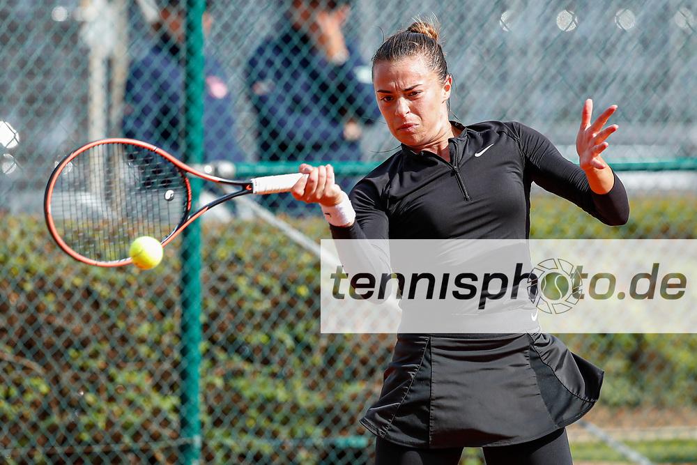 Lina Gjorcheska (MKD) - WTO Wiesbaden Tennis Open - ITF World Tennis Tour 80K, 22.9.2021, Wiesbaden (T2 Sport Health Club), Deutschland, Photo: Mathias Schulz