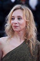 Actress Sylvie Testud  at the Ash Is The Purest White (Jiang Hu Er Nv) gala screening at the 71st Cannes Film Festival, Friday 11th May 2018, Cannes, France. Photo credit: Doreen Kennedy