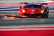 May 4-6, 2017: IMSA Sportscar Showdown at Circuit of the Americas. 62 Risi Competizione, Ferrari 488 GTE, Toni Vilander, Giancarlo Fisichella