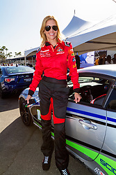 """LONG BEACH, CA - APRIL 07   Actress Tricia Helfer is a Canadian model turned actress who recently played the lead in SyFy's miniseries """"Ascension."""" She has also starred in television shows such as """"Killer Women,"""" """"The Firm"""" and """"Burn Notice.""""<br /> Her avid fans, however, know her best for her long running role as the humanoid, Cylon 'Number Six' in """"Battlestar Galactica."""" at the 2015 Toyota Celebrity/PRO Press/Media Day in Long Beach, CA. 2015 April 7. Byline, credit, TV usage, web usage or linkback must read SILVEXPHOTO.COM. Failure to byline correctly will incur double the agreed fee. Tel: +1 714 504 6870."""