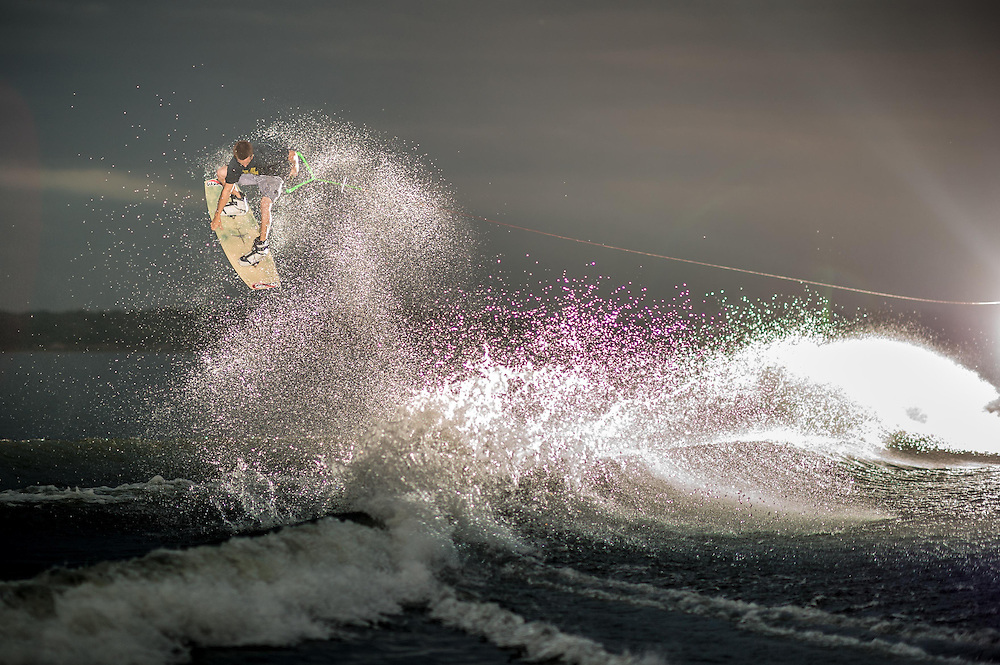 Bob Sichel shot for Transworld Wakeboarding in Clermont, Florida.