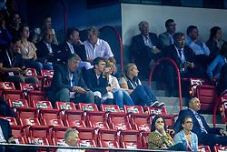 Verlooy Axel, Verlooy Jos, Verlooy Nena, Rydant Hymne<br /> Longines FEI World Cup™ Jumping Final III round 1<br /> Las Vegas 2015<br />  © Hippo Foto - Dirk Caremans<br /> 19/04/15