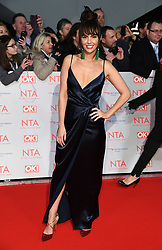 Jennifer Metcalfe attending the National Television Awards 2018 held at the O2, London. Photo credit should read: Doug Peters/EMPICS Entertainment