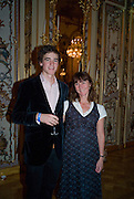 ARTHUR GUINNESS; LOUISE GUINNESS,  Drinks the evening before the The 2008 Crillon Debutante Ball. Baccarat. Place des Etats-Unis.  Paris. 29 November 2008. *** Local Caption *** -DO NOT ARCHIVE-© Copyright Photograph by Dafydd Jones. 248 Clapham Rd. London SW9 0PZ. Tel 0207 820 0771. www.dafjones.com.