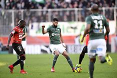 Rennes vs Saint Etienne - 10 Feb 2019