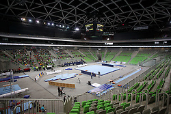 05-04-2015 SLO: World Challenge Cup Gymnastics, Ljubljana<br /> View on arena during Final of Artistic Gymnastics World Challenge Cup Ljubljana, on April 5, 2015 in Arena Stozice, Ljubljana, Slovenia. Photo by Morgan Kristan / RHF Agency