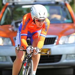 Sportfoto archief 2012<br /> European Championship Indivudual Timetrail women Anna van der Breggen onderweg naar de Europese titel bij de vrouwen onder de 23 jaar
