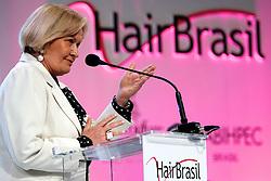 A Senadora Ana Amélia Lemos durante a abertura Oficial na HAIR BRASIL 2012 - 12 ª Feira Internacional de Beleza, Cabelos e Estética, que acontece de 24 a 27 de março no Expocenter Norte, em São Paulo. FOTO: Jefferson Bernardes/Preview.com