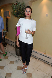ANTONIA HARRISON at an evening of Dinner & Dancing at Daphne's, 112 Draycott Avenue, London SW3 on 24th July 2013.