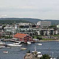 Kristiansand om sommeren.