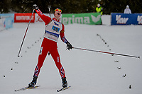 Skiskyting<br /> 30.01.2015<br /> Foto: Gepa/Digitalsport<br /> NORWAY ONLY<br /> <br /> BUERSERBERG - ØSTERRIKE <br /> European Youth Olympic Festival 2015, relay 2x6km ladies and 2x7.5 men, mixed team. Image shows Sturla Holm Lægereid (NOR) at the finish.