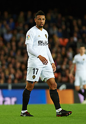 November 3, 2018 - Valencia, Valencia, Spain - Francis Coquelin of Valencia CF during the La Liga match between Valencia CF and Girona FC at Mestala Stadium on November 3, 2018 in Valencia, Spain (Credit Image: © AFP7 via ZUMA Wire)