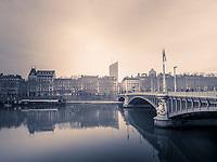 Lyon - Winter 2018<br /> Passerelle du college