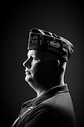 John Clark<br /> Army, Marine Corps<br /> E-5<br /> 13B<br /> May 1993 - May 2009<br /> OIF<br /> <br /> Veterans Portrait Project<br /> St. Louis, MO