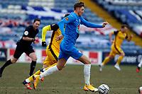Richie Bennett. Stockport County FC 0-0 Aldershot Town FC. Vanarama National League. Edgeley Park. 13.2.21