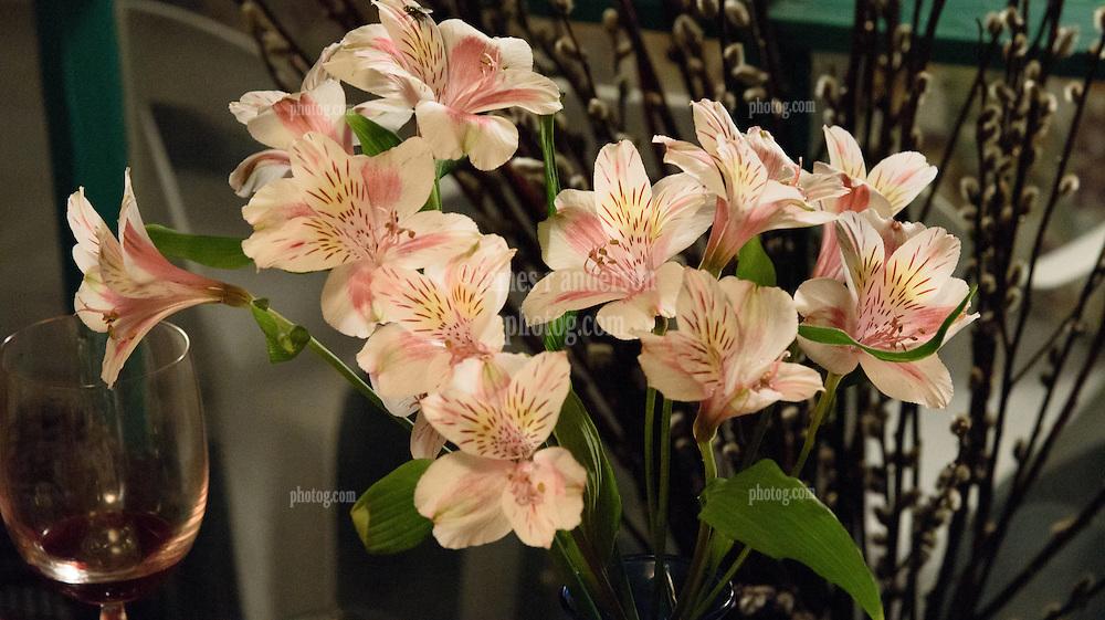 RSVP Restaurant West Cornwall CT. Flowers Decor