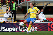 Brighton and Hove Albion defender Maya Le Tissier (6) during the FA Women's Super League match between Manchester United Women and Brighton and Hove Albion Women at Leigh Sports Village, Leigh, United Kingdom on 4 October 2020.