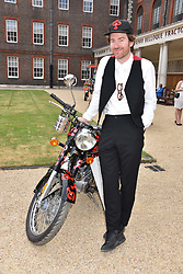 Philip Colbert at the Concours d'éléphant in aid of Elephant Family held at the Royal Hospital Chelsea, London, England. 28 June 2018.