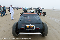 Staging at the start of TROG West - The Race of Gentlemen. Pismo Beach, CA, USA. Saturday October 15, 2016. Photography ©2016 Michael Lichter.