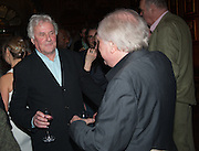 SIR RICHARD EYRE; MIKE ATTENBOROUGH, The Almeida Theatre  celebrates Mike Attenborough's 11 brilliant years as Artistic Director. Middle Temple Hall,<br /> Middle Temple Lane, London, EC4Y 9AT