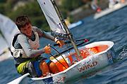 Team Racing Day 1, Optimist World Championship 2013., Italy, © Matias Capizzano