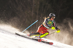 Laurence St Germain (CAN) during the Ladies' Slalom at 56th Golden Fox event at Audi FIS Ski World Cup 2019/20, on February 16, 2020 in Podkoren, Kranjska Gora, Slovenia. Photo by Matic Ritonja / Sportida
