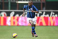 "Patrick Vieira (Inter)<br /> Milano 3/2/2008 Stadio ""Giuseppe Meazza"" <br /> Campionato Italiano Serie A<br /> Inter-Empoli (1-0)<br /> Foto PaperMg Insidefoto"