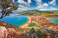 Iztuzu Beach at the mouth of the Dalyan Çay? River delta. Köyce?iz-Dalyan Special Environmental Protection Area for loggerhead sea turtle nests. Mediterranean coast Turkey .<br /> <br /> If you prefer to buy from our ALAMY PHOTO LIBRARY  Collection visit : https://www.alamy.com/portfolio/paul-williams-funkystock/dalyan-lycian-tombs-and-kaunos.html<br /> <br /> Visit our TURKEY PHOTO COLLECTIONS for more photos to download or buy as wall art prints https://funkystock.photoshelter.com/gallery-collection/3f-Pictures-of-Turkey-Turkey-Photos-Images-Fotos/C0000U.hJWkZxAbg