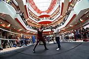 BOXEN: IBO-Weltmeisterschaft, Pressetraining, Hamburg, 03.07.2019<br /> Team EC Boxing: Michael Wallisch<br /> © Torsten Helmke