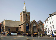 Town parish church, St Peter Port, Guernsey, Channel Islands, UK
