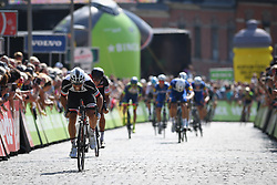 August 19, 2018 - Geraardsbergen, BELGIUM - Australian Mathew Hayman of Mitchelton - Scott sprints to the finish of the final stage of the Binkcbank Tour cycling race, 209,5 km from Lacs de l'Eau d'Heure to Geraardsbergen, Belgium, Sunday 19 August 2018. BELGA PHOTO DAVID STOCKMAN (Credit Image: © David Stockman/Belga via ZUMA Press)