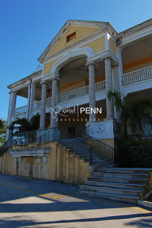 Photgraphs of the once Collins house of which collins Ave got its name