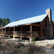 Oakland Nature Preserve cabin along the Green Mountain Scenic Highway in Clermont, Florida. (AP Photo/Alex Menendez) Florida scenic highway photos from the State of Florida. Florida scenic images of the Sunshine State.