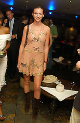 Model MARIE DONOHUE a friend of Flavio Briatore at Boodles on the Beach -  a party to launch jewellers new collection 'Daiquiri' held at Pangaea, 85 Piccadilly, London W1 on 7th June 2005.<br /><br />NON EXCLUSIVE - WORLD RIGHTS