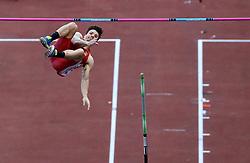 May 31, 2018 - Rome, Italy - Diogo Ferreira (POR) competes in pole vault men during Golden Gala Iaaf Diamond League Rome 2018 at Olimpico Stadium in Rome, Italy on May 31, 2018. (Credit Image: © Matteo Ciambelli/NurPhoto via ZUMA Press)