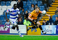 Photo: Leigh Quinnell/Sportsbeat Images.<br /> Queens Park Rangers v Hull City. Coca Cola Championship. 03/11/2007. Hulls Stephen McPhee races away from QPRs Damion Stewart.