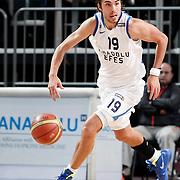 Anadolu Efes's Sasha Vujacıc during their Turkish Basketball League match Anadolu Efes between Pinar Karsiyaka at Arena in Istanbul, Turkey, Saturday, November 26, 2011. Photo by TURKPIX