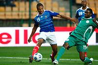 Fotball<br /> Frankrike v Nigeria<br /> Foto: DPPI/Digitalsport<br /> NORWAY ONLY<br /> <br /> FOOTBALL - FRIENDLY GAMES 2008/2009 - FRANCE v NIGERIA - 2/06/2009 <br /> <br /> LOIC REMY (FRA) / SAM SODJE (NI)