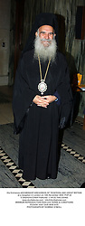 His Eminence ARCHBISHOP GREGORIOS OF THYATEIRA AND GREAT BRITAIN at a reception in London on 14th November 2003.POP 22