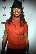 Raqiah Mays at The Jamie Foxx's Album Release Party for Intuition, Sponsored by Vibe Magazine & Patron Tequila held at Home on December 17, 2008 in New York City..