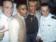 Nelly & Eve with Navy Soldiers<br /> Justin Timberlake & Nelly's Post Grammy Party<br /> Capitale Nightclub<br /> Sunday, February 23, 2003.<br /> New York, NY, USA<br /> Photo By Celebrityvibe.com/Photovibe.com