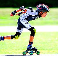 SERIE ROOKIE <br /> Nederland, Lisserbroek, 07-06-2015.<br /> Skeeleren, Zuid-Hollands Kampioenschap, Pupillen 3, Skeelerbaan Lisserbroek.<br /> Foto : Klaas Jan van der Weij