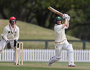 Bayley Wiggins of CD. Canterbury vs. Central Districts Day 1, 1st round of the 2021-2022 Plunket Shield cricket competition at Hagley Oval, Christchurch, on Saturday 23rd October 2021.<br /> © Copyright Photo: Martin Hunter/ www.photosport.nz