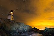 Lighthouse at Golleneset, Kvalsvik, Norway. | Fyrlykt på Golleneset, Kvalsvik, Norge.