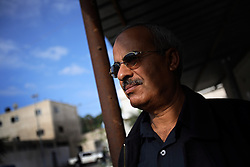 Portrait of Brig. Gen. Salah Abu Azzum, 54, of the Explosive Ordinance Department of the Gaza Police. Azzum has led investigations into allegations that Israeli airstrikes mistakenly targeted civilian residences in Beit Hanoun, Gaza Strip, Palestinian Territories, Nov. 18, 2006.