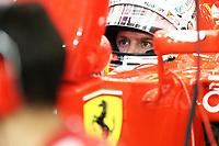 VETTEL sebastian (ger) ferrari sf15t ambiance portrait during 2015 Formula 1 FIA world championship, Bahrain Grand Prix, at Sakhir from April 16 to 19th. Photo Clément Marin / DPPI
