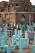 The City of the Dead cemetery in Cairo, Egypt.